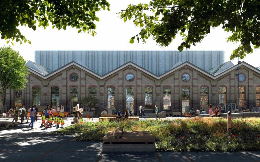 Werken - Bovenbouwwerkplaats - Wisselspoor
